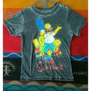 The Simpsons Burnout Tee